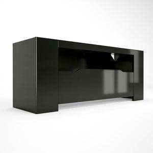 Čierny TV stolík Artemob Orlando