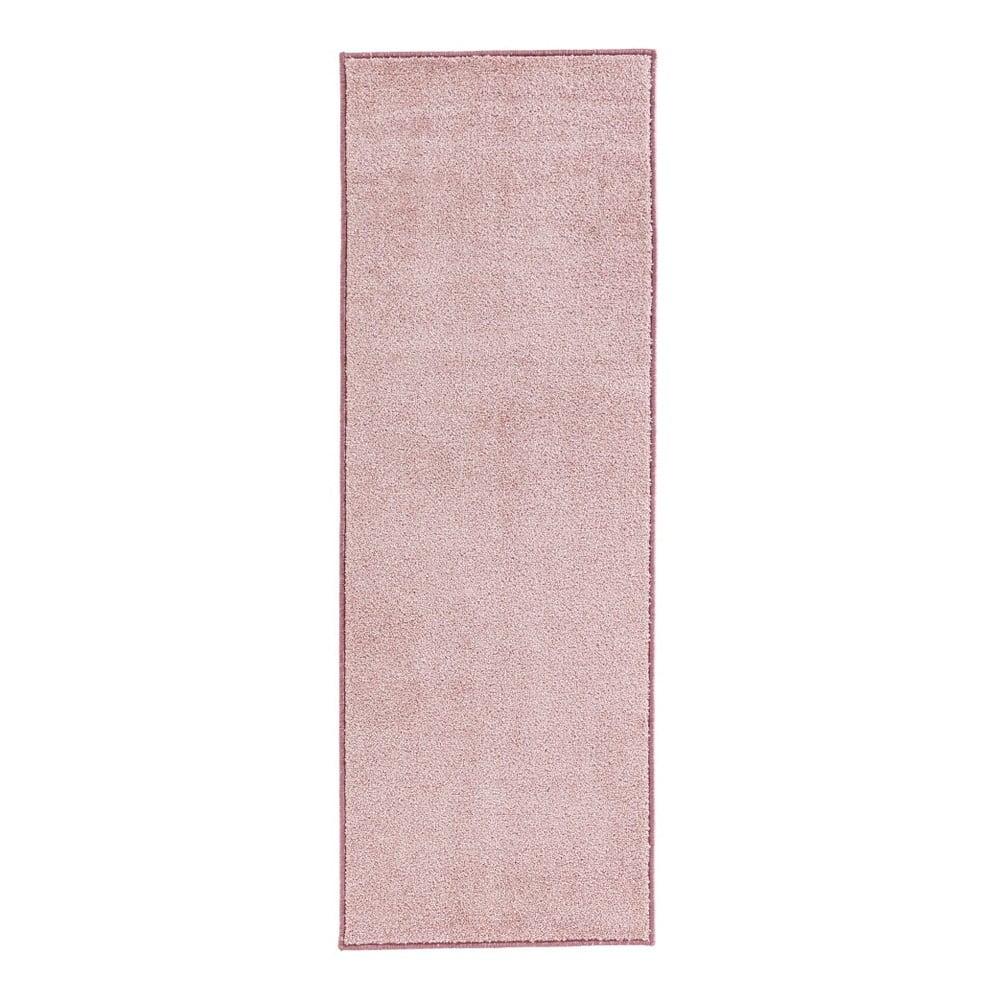 Ružový koberec Hanse Home Pure, 80 × 150 cm