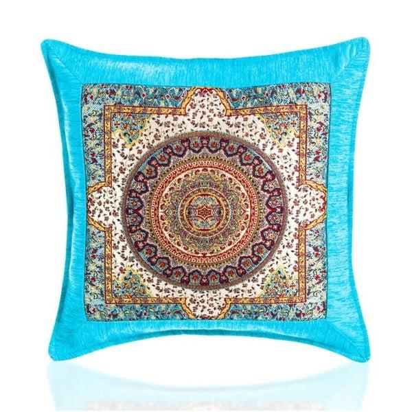 Obliečka na vankúš Seramik Turquoise, 43x43 cm