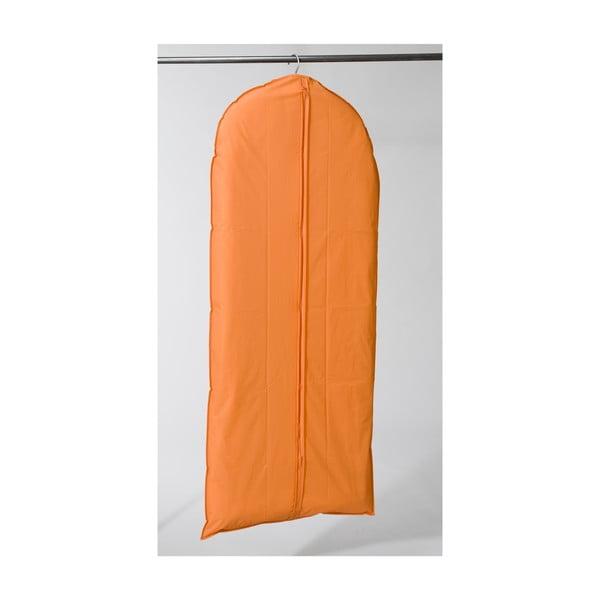Textilný závesný obal na šaty Garment Orange, 137 cm