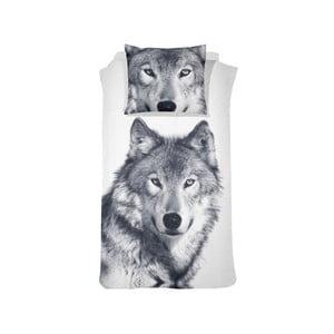 Bavlnené posteľné obliečky Damai White Husky, 200×140 cm