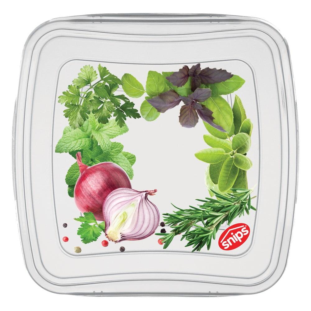 Súprava 3 škatuliek na potraviny Snips Classic, 0,25 l