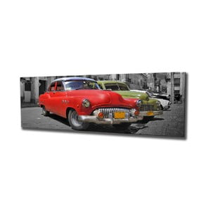 Nástenný obraz na plátne Havana, 80 × 30 cm