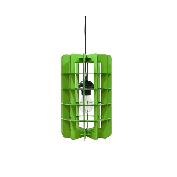 Svietidlo Tube, zelené