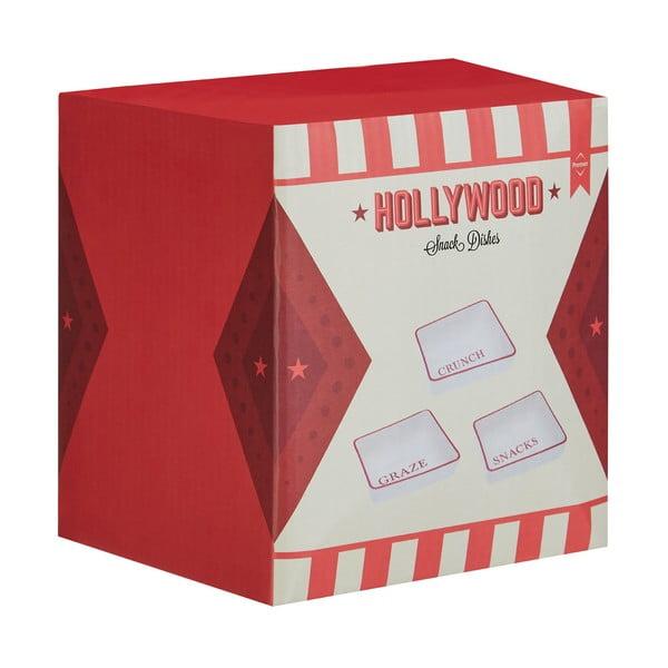 Sada 3 servírovacích misiek Premier Housewares Hollywood