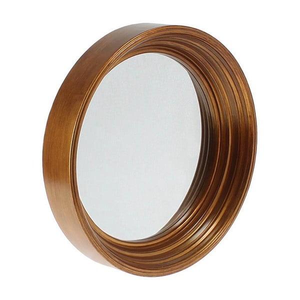 Nástenné zrkadlo In Dark Gold, 41 cm