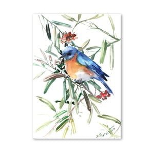 Autorský plagát Blue Bird od Surena Nersisyana, 60 x 42 cm