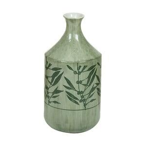 Zelená kameninová váza Santiago Pons Florist, výška 30,5 cm