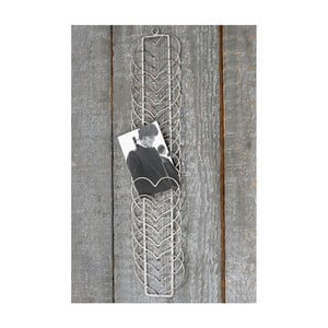 Nástenná dekorácia z kovu na fotografie Boltze Hearts