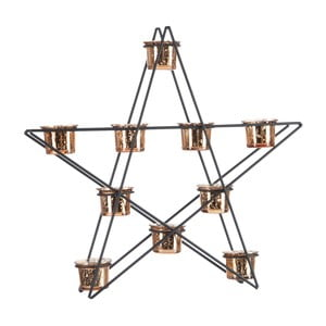 Lampáš Star Black and Gold