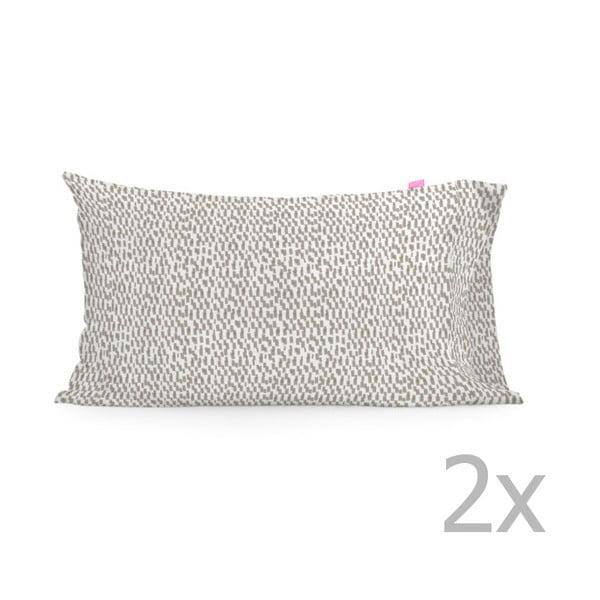 Sada 2 bavlnených obliečok na vankúš Happy Friday Light, 50 × 80 cm
