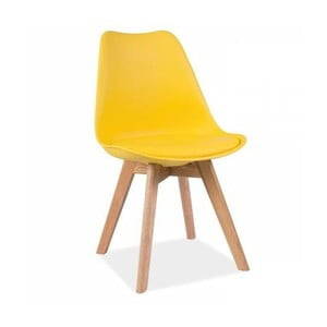 Žltá stolička Vivir Guay