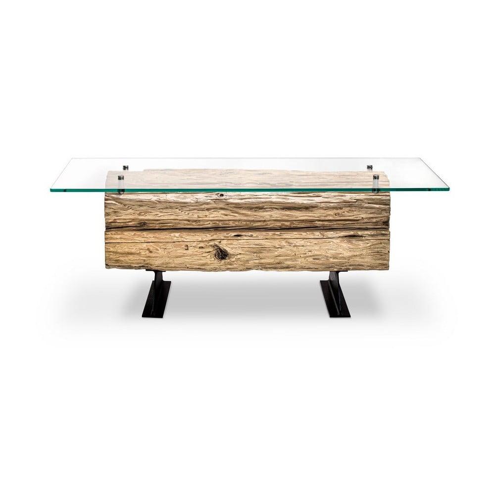 Konferenčný stolík zo smrekového dreva Windsor & Co Sofas Dione