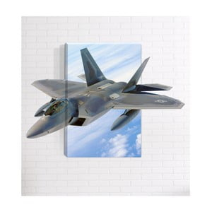 Nástenný 3D obraz Mosticx Fighter, 40 x 60 cm