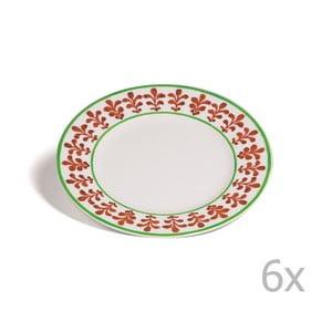 Sada 6 dezertných tanierov Toscana Montalcino, 21.5 cm