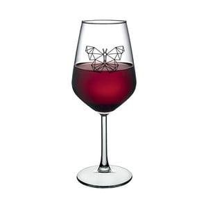 Pohár na víno Vivas Butterfly, 345 ml