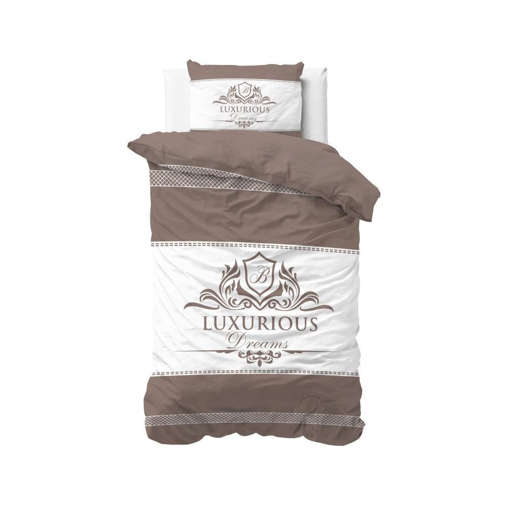 Bavlnené obliečky na jednolôžko Sleeptime Luxurious, 140 × 220 cm