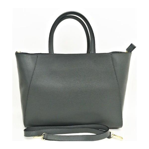 Kožená kabelka Gilda Dark Grey
