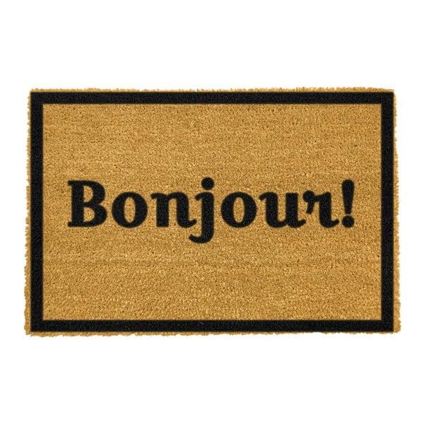 Rohožka Artsy Doormats Bonjour, 40x60cm