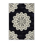 Čierny koberec Hanse Home Gloria Lace, 80x150cm