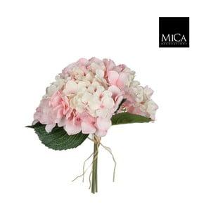 Umelá kvetina Ego Dekor Ružová hortenzia II
