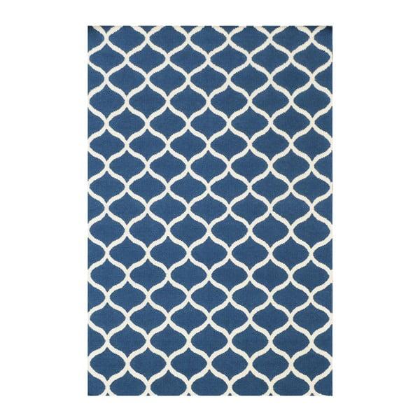 Ručne tkaný koberec Alize Blue, 155x240 cm