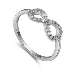 Prsteň s krištáľmi Swarovski Eternity, veľkosť 52