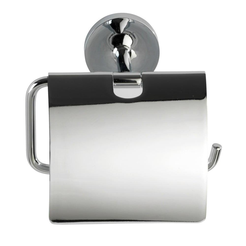 Samodržiaci stojan s krytkou na toaletný papier Wenko Power-Loc Arcole