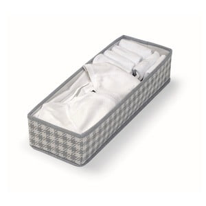 Sivý úložný box Cosatto De Poule,14x42cm