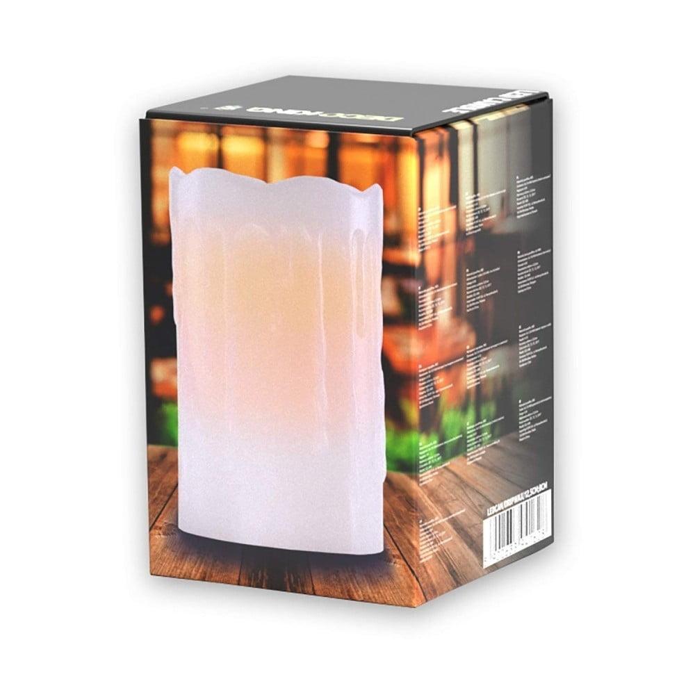 Svetelná sviečka DecoKing Subtle Sweet, výška 12,5 cm