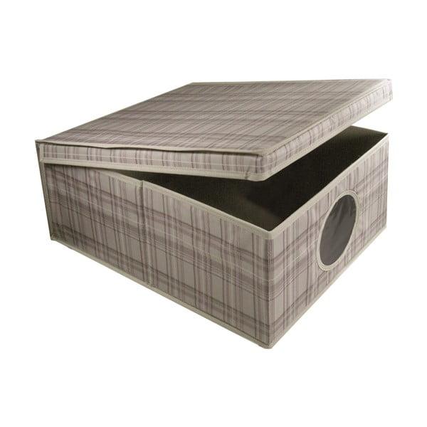 Úložný box Tartan, 50x42x28 cm
