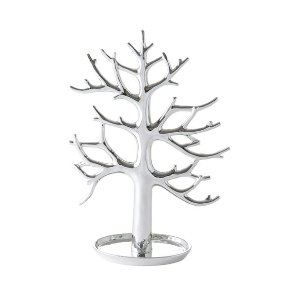 Keramická dekorácia Tree Silver