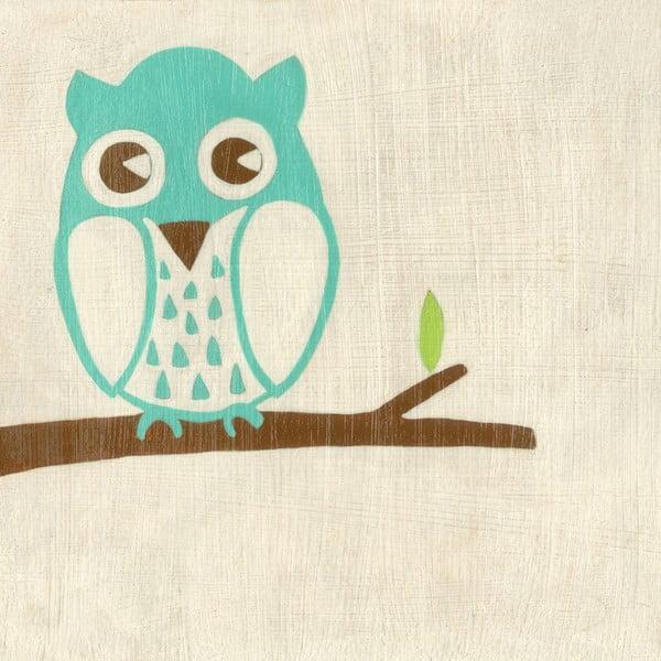 Obraz Owl, Best Friend, 30x30 cm