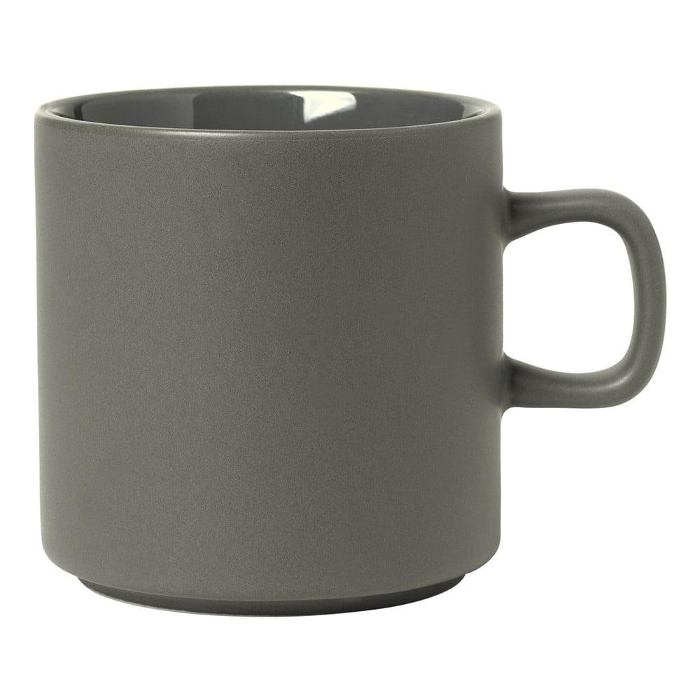Sivý hrnček na čaj Blomus Pilar, 250 ml
