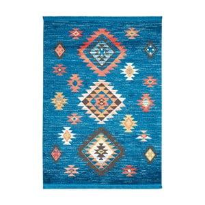 Koberec Nourison Navajo Blue, 130x66 cm