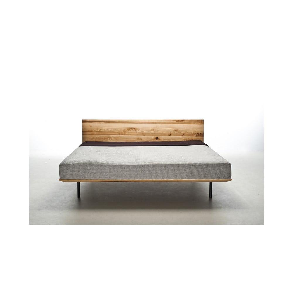 Posteľ z olejovaného jaseňového dreva Mazzivo Modo, 120 × 200 cm