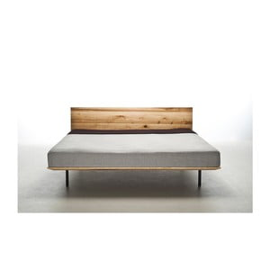 Posteľ z olejovaného jaseňového dreva Mazzivo Modo, 200×220 cm