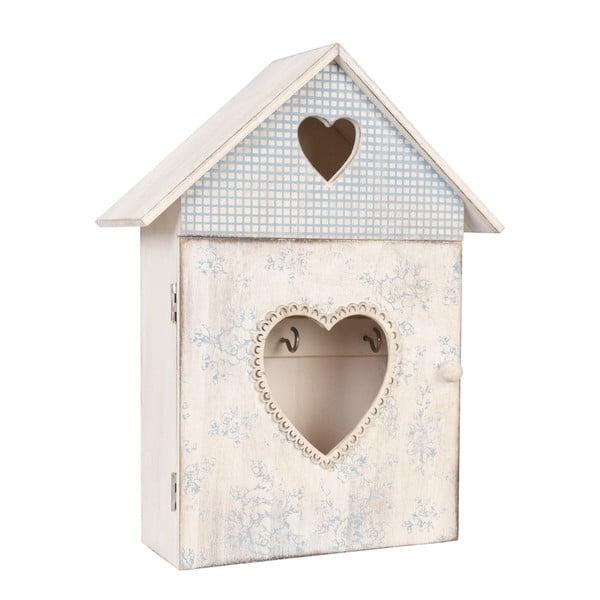 Skrinka na kľúče Love House
