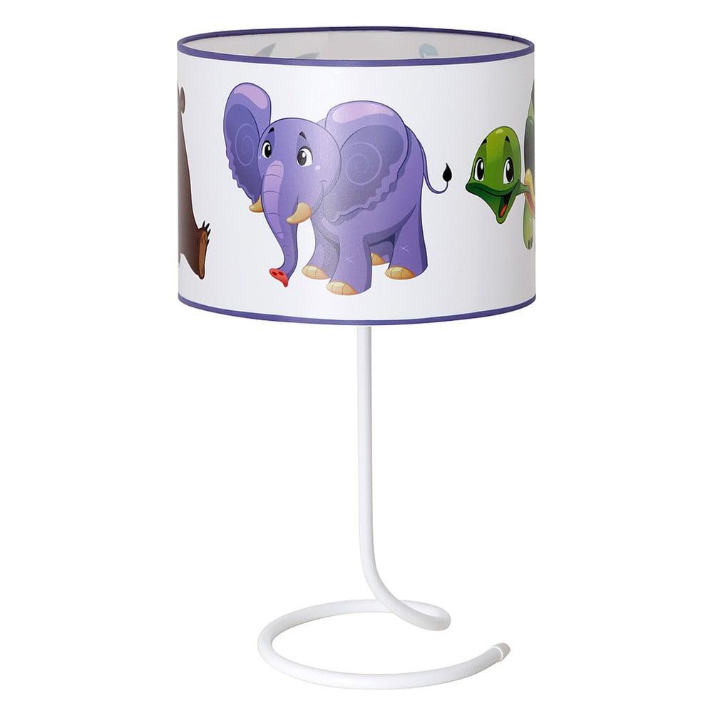 Detská stolová lampa Glimte Animals With Turtle