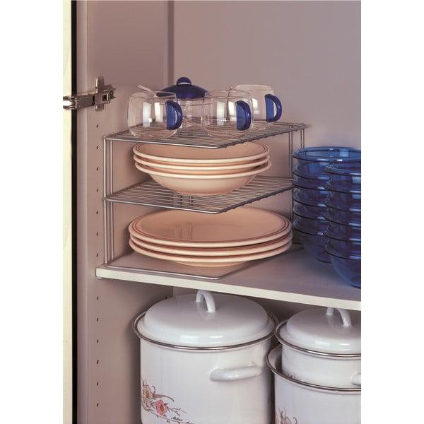 Polička do kuchynskej skrinky Metaltex Palio, šírka25cm