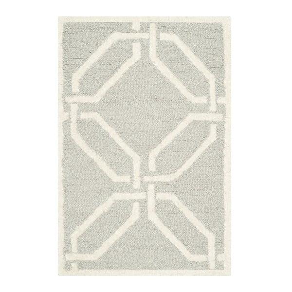 Vlnený koberec Safavieh Mollie Small, 91x152 cm