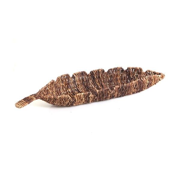 Prútená miska Leaf, 68 cm