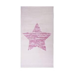 Detský ružový koberec Nattiot Lucero, 80x150cm