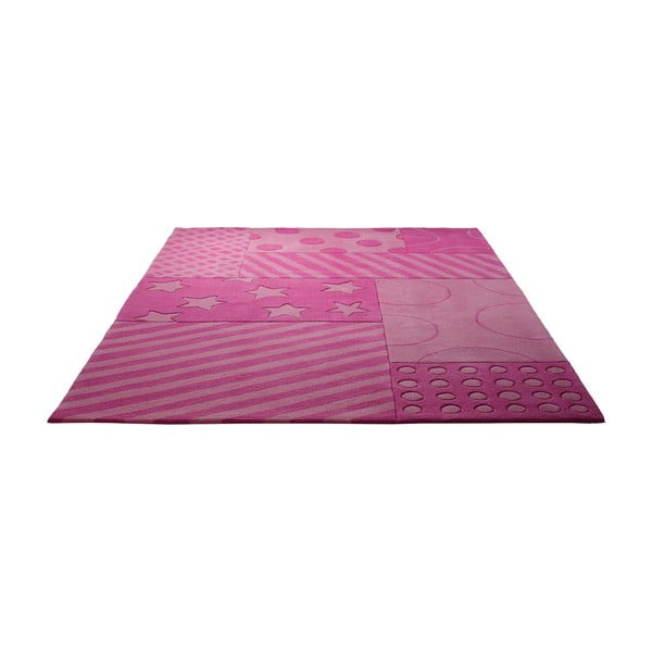 Koberec Esprit Stars Stripes Pink, 70x140 cm