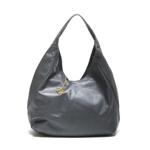 Kožená kabelka Isabella Rhea 2106 Grigio