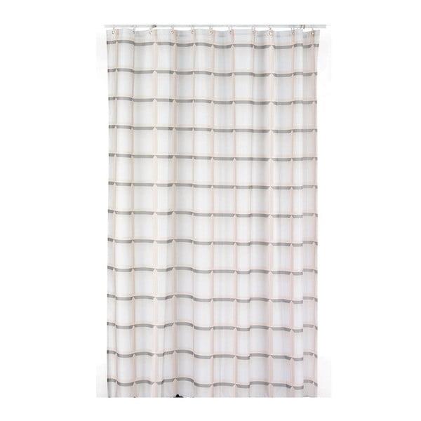 Sprchový záves Lamara, béžový, 180x200 cm