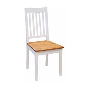 Biela dubová stolička Folke Bragi