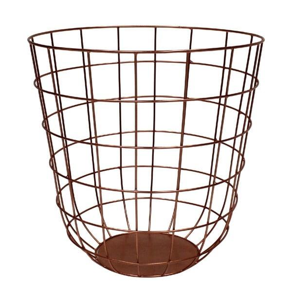 Kovový košík Netz Copper, 30 cm