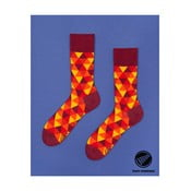 Ponožky Many Mornings Flame Triangles, veľ.39/42