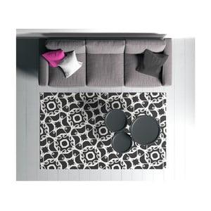 Čierno-biely koberec Oyo home Suzzy Smielo, 100 x 150 cm